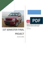 Final Project on Mahindra & Mahindra