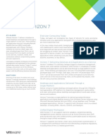 Vmware Horizon 7 Datasheet