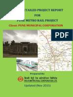 DPR of Pune Metro NOV 2015 2