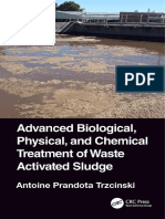 Advanced Biological, Physical, And Chemical Treatment of Waste Activated Sludge, 1st Edition