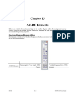 1 Etap Ac Dc Elements