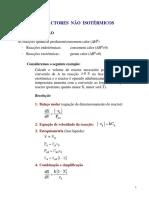 CAPITULO 6 - Reactores Nao Isotermicos