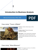Introduction Business Analysis