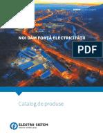 Catalog Produse Electro-sistem