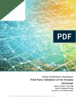 Validation of Faraday Transformer