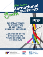 12th International Youth Conference - PROJECT RESULTS
