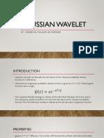 Gaussian Wavelet - Ppt