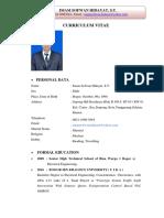 CV Imam Sofwan Hidayat