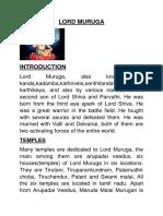 Lord Muruga