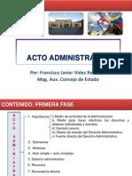 1. Acto Administrativo