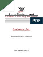hauteenyeefinalbusinessplanresto-170903155728
