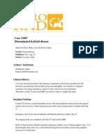 Disseminated Hydatid Disease