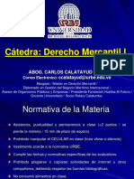 Derecho Mercantil i Urbe