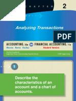 Analisa transaksi akuntansi