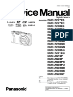 Panasonic DMC-TZ30 / DMC-TZ27 / DMC-TZ31 / DMC-ZS19 / DMC-ZS20 Digital Camera Service Manual