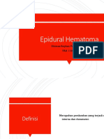 Epidural Hematoma- Dhimas R