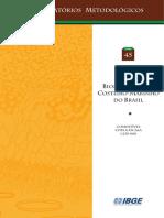Sistema Costeiro - Marinho Inclusão Nos Biomas Brasileiros Pelo IBGE