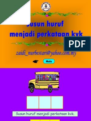 Susun Huruf Kvk Pps