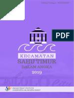 Kecamatan Sahu Timur Dalam Angka 2019