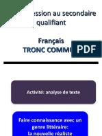 Tronc Commun 1