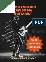 eBook Como Evoluir Rápido Na Guitarra - Site Quero Aprender Agora