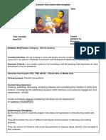 edar 368 lesson plan - visual and media arts  2