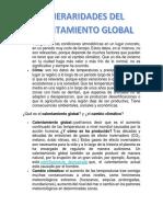 Generalidades Del Calentamiento Global