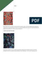 Motif Batik Yang Populer Di Indonesia