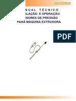 manual transdutor pressao