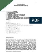 01 CASACION PENAL.VIOLACION INDIRECTA DE LA LEY.docx