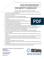 Conveyor Safety Checklist Converted