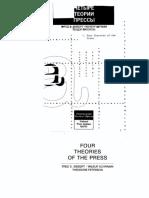 4 теории прессы