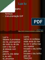 Lua tu - Ficha de Trabalho + Letra + Harmonia - Jose Galvao