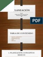 Planeación Douglas Payares Payares