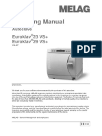 EUROKLAV-29VS+ Manual