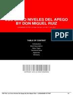 Documentop.com Los Cinco Niveles Del Apego by Don Miguel Ruiz Lcn 5a967f791723ddcd55fe1f51