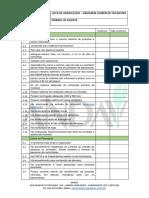 Checklist Armazenamento de Defensivos Para Comerciantes