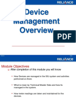 Device Management Functional Overview