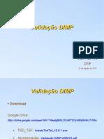 Validação DIMP 140819