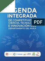 AGENDA INTEGRADA DE COMPETITIVIDAD CIENCIA Y TECNOLOGÍA DEL HUILA