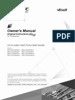 Toplotna pumpa Gree - upustvo.pdf