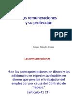 Remuneraciones y Su Proteccion CToledo UDP 2019
