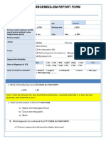 VTE Report Form