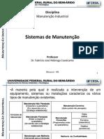 Manutencao Industrial - 1.2 - Sistemas de Manutencao