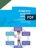 PRIMEROS AUXILIOS 2019