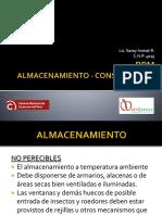 BPM Almacenamiento Conservacion