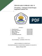 Peraturan Dan Perundang - Undangan Terkait Dengan Pengelolaan Limbah Cair ( Kelompok 5 2D4A )