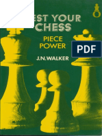 J N Walker Test your Chess Piece Power 1980