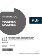LG WTG1030SF 10kg Top Load Washing Machine User Manual