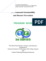 3rd Esdp 2015_ Program Book_rev